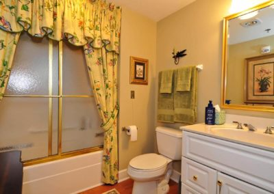 Guest Bathroom of a Unit at The Gardens Of Taylor Glen Retirement Homes