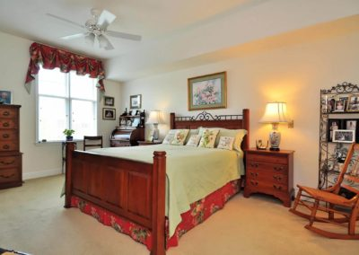 Master Bedroom at The Gardens Of Taylor Glen