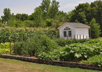 Garden at Taylor Glen's Retirement Community